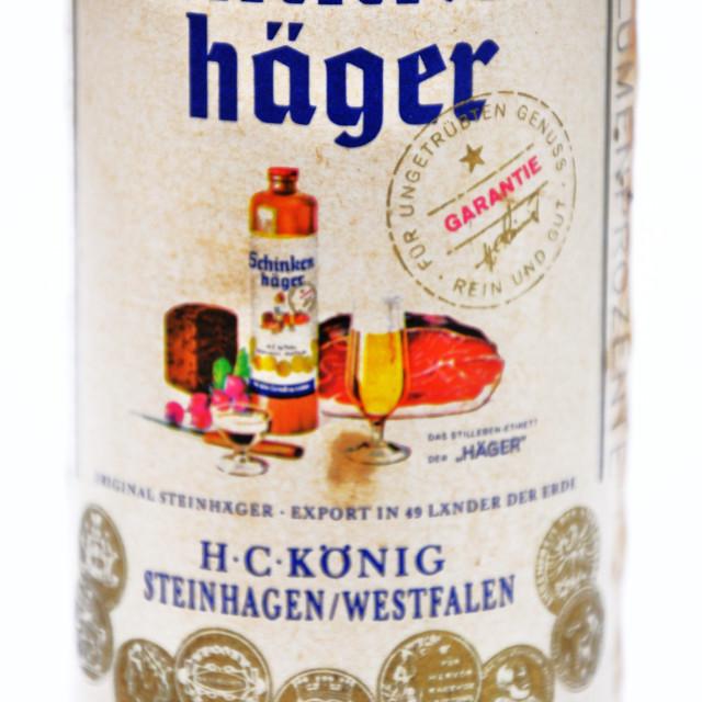 """Schinkenhager"" stock image"