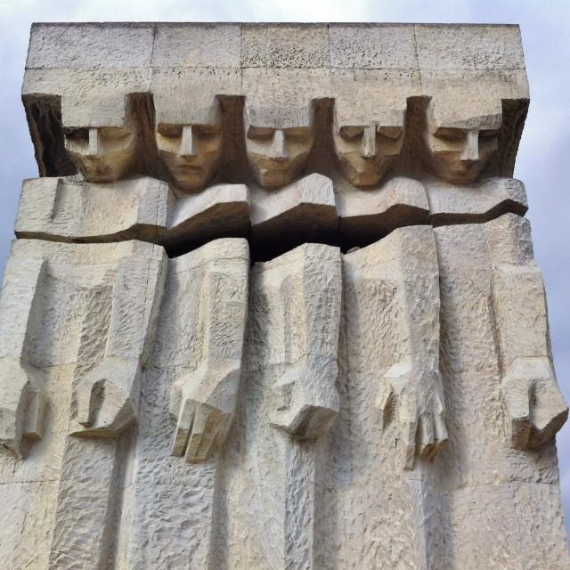 """""""Holocaust Memorial, Krakow Poland"""" stock image"""