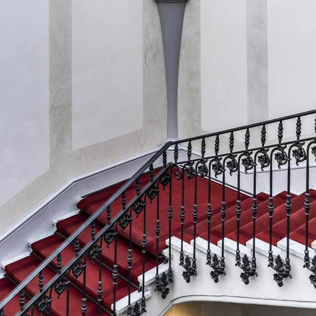 """""""Staircase upscale hotel"""" stock image"""