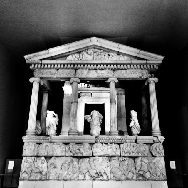 """Elgin Marbles (Parthenon Marbles)"" stock image"