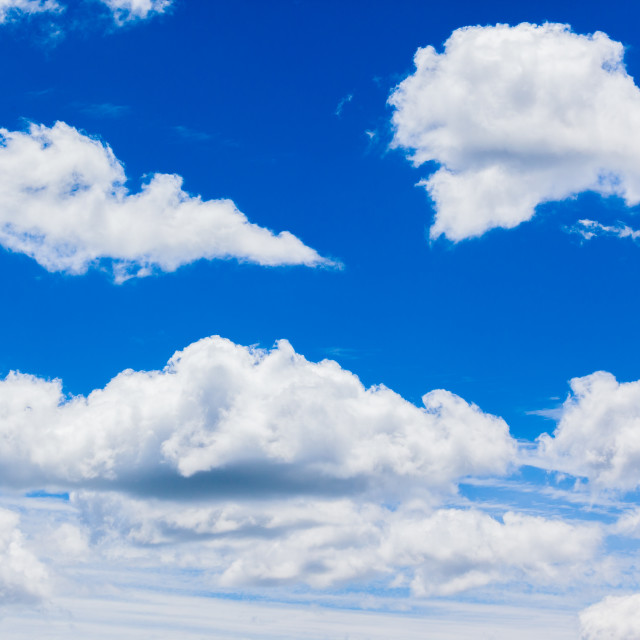 """Clouds Blue Sky"" stock image"