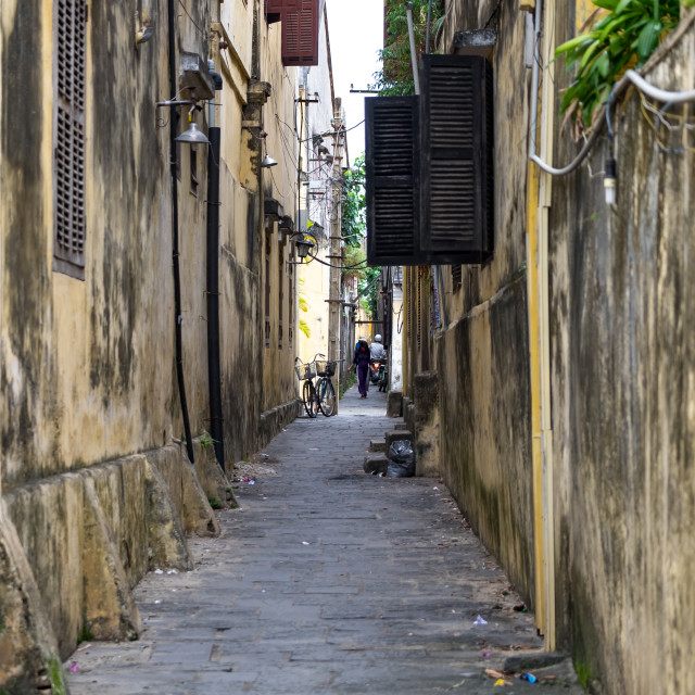 """Hoi an downtown"" stock image"