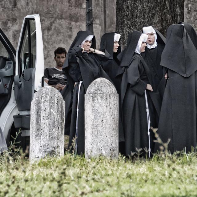 """A Nun Event"" stock image"