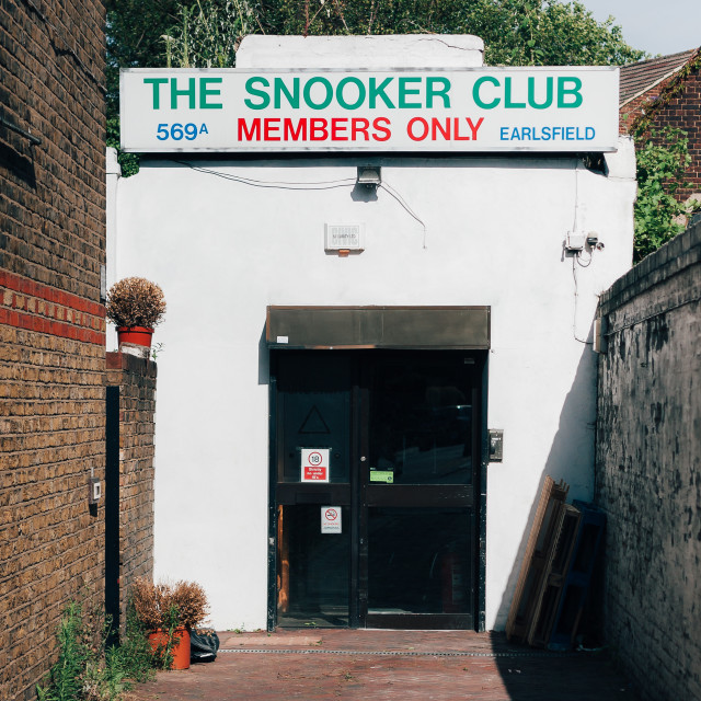 """Snooker Club"" stock image"