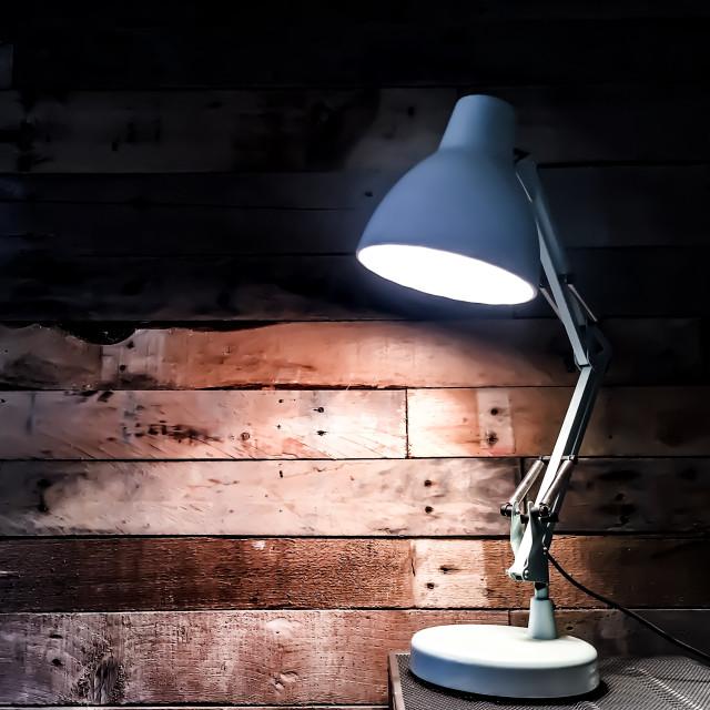 """Desk lamp"" stock image"