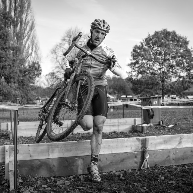 """Cyclo-Cross Event Derby,UK."" stock image"