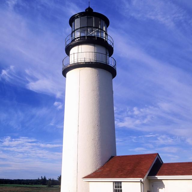 """""""Cape Cod Light, Truro, Cape Cod"""" stock image"""