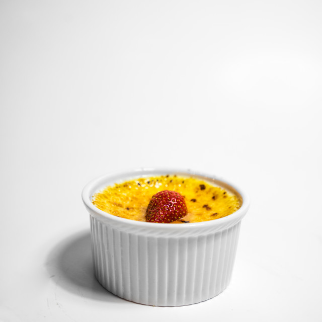 """Creme Brule"" stock image"