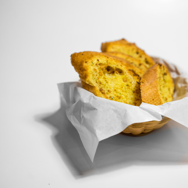 """Garlic Breads"" stock image"
