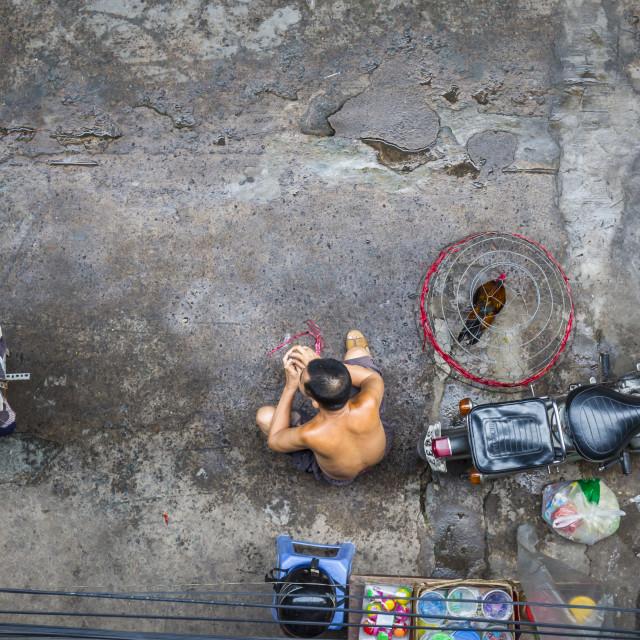 """Vietnam streetlife"" stock image"