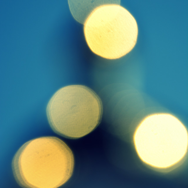"""light in the blur"" stock image"