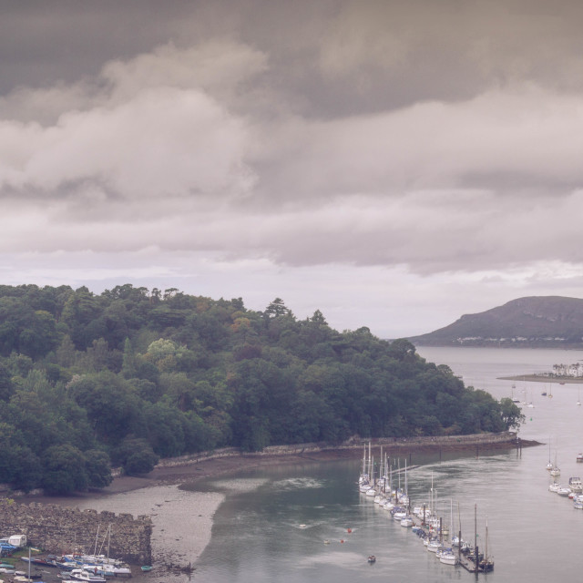 """Conwy"" stock image"