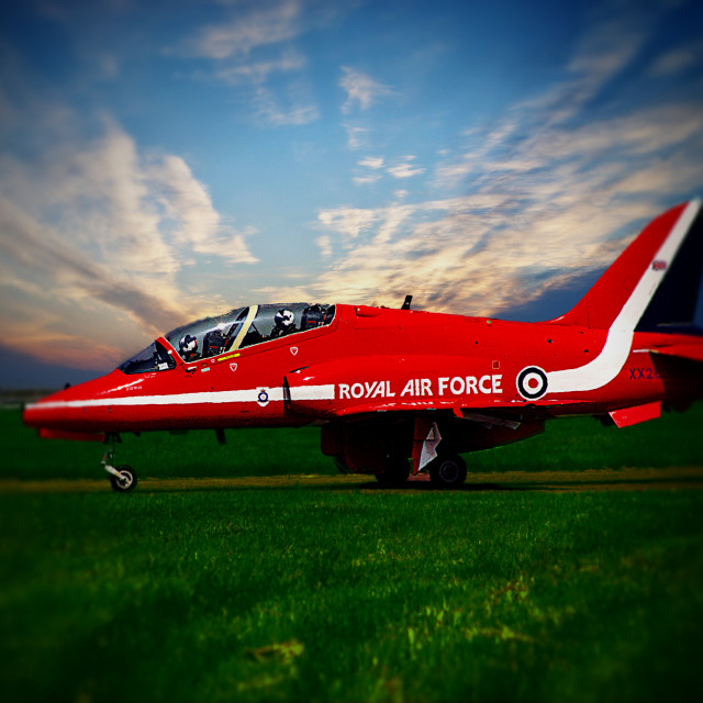 """raf red arrow"" stock image"