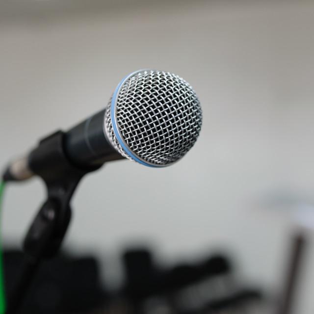 """microphone"" stock image"