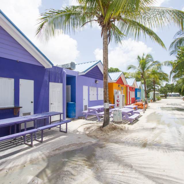"""Oistins, Barbados"" stock image"