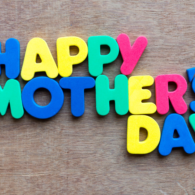 """happy mother's day"" stock image"