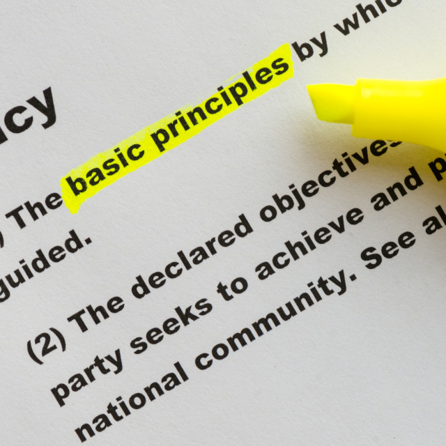 """The word Policy highlighted"" stock image"