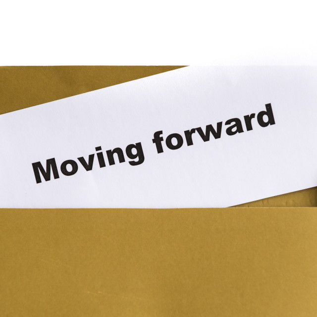 """moving forward"" stock image"