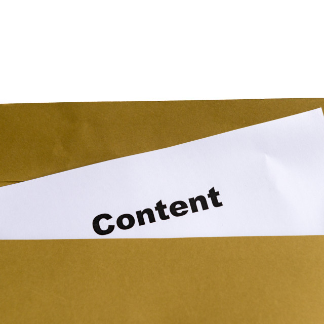 """content"" stock image"