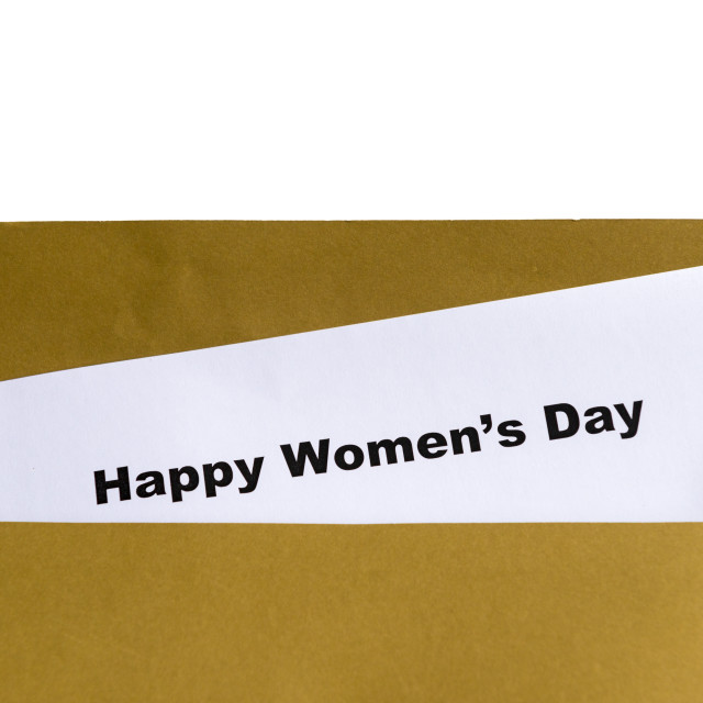 """happy women's day"" stock image"