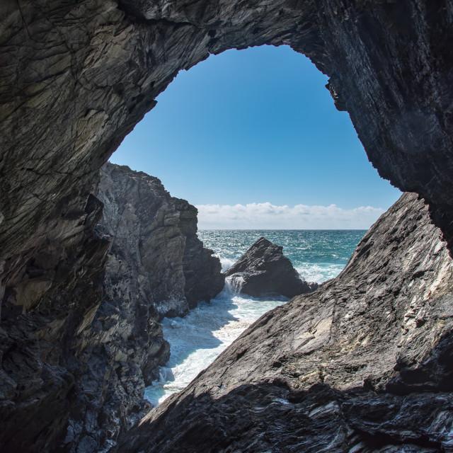 """Sea Cave"" stock image"