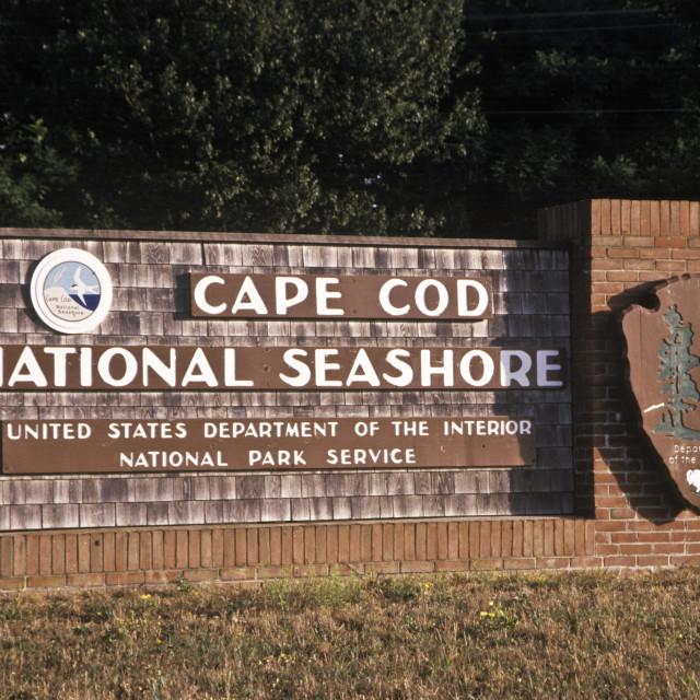 """Cape Cod National Seashore, Eastham, Cape Cod, Massa"" stock image"