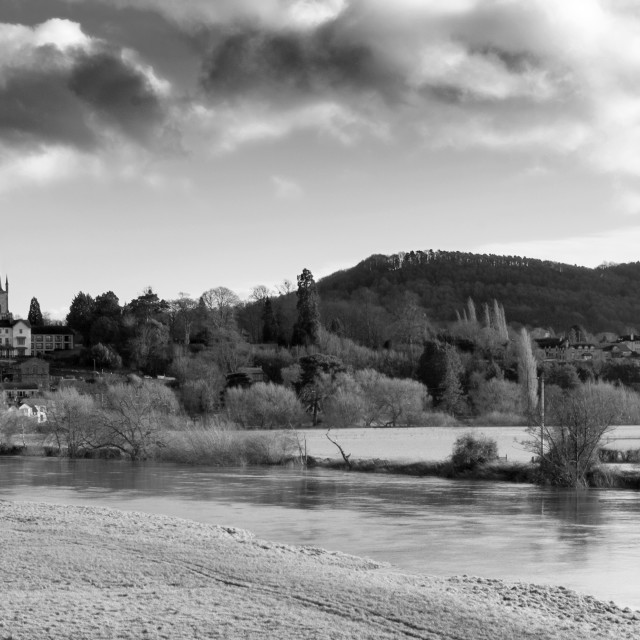 """Ross on Wye"" stock image"