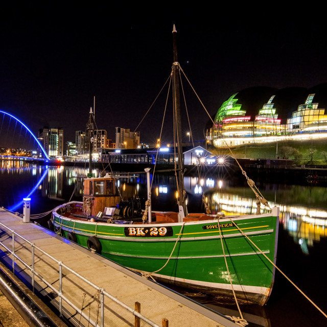 """River Tyne"" stock image"