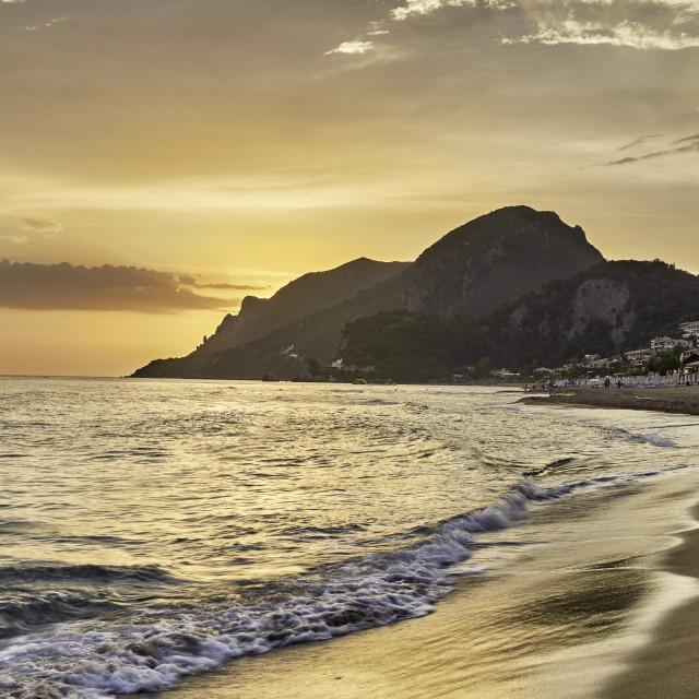 """Glyfada Beach - Corfu"" stock image"