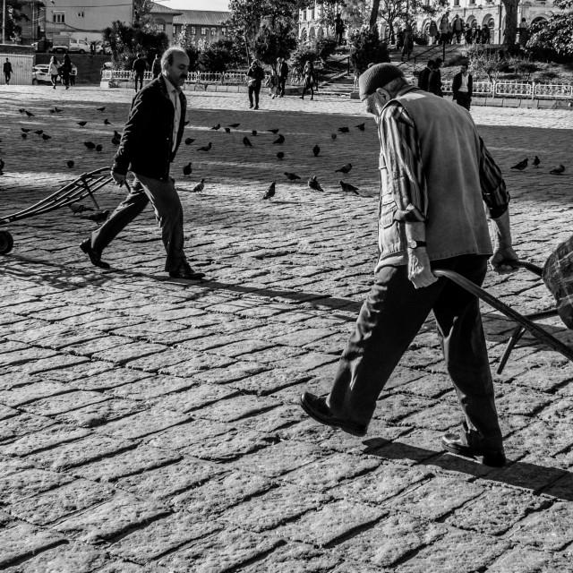 """streetscene old bazaar istanbul"" stock image"
