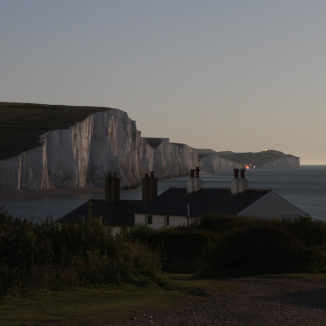 """good night from the seven sisters"" stock image"