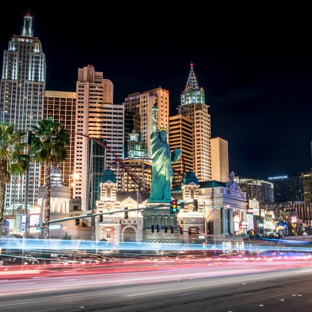 """""""Vegas Traffic"""" stock image"""