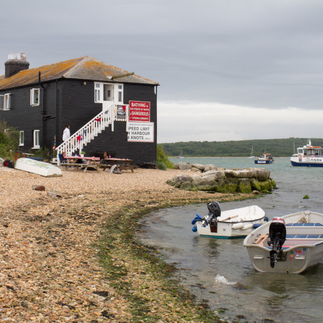 """Hengistbury Point"" stock image"