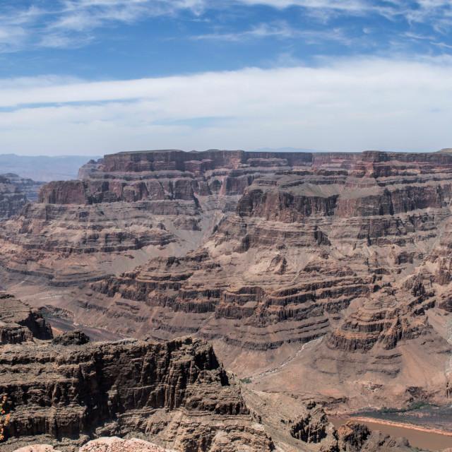 """Grand Canyon Panoramic."" stock image"
