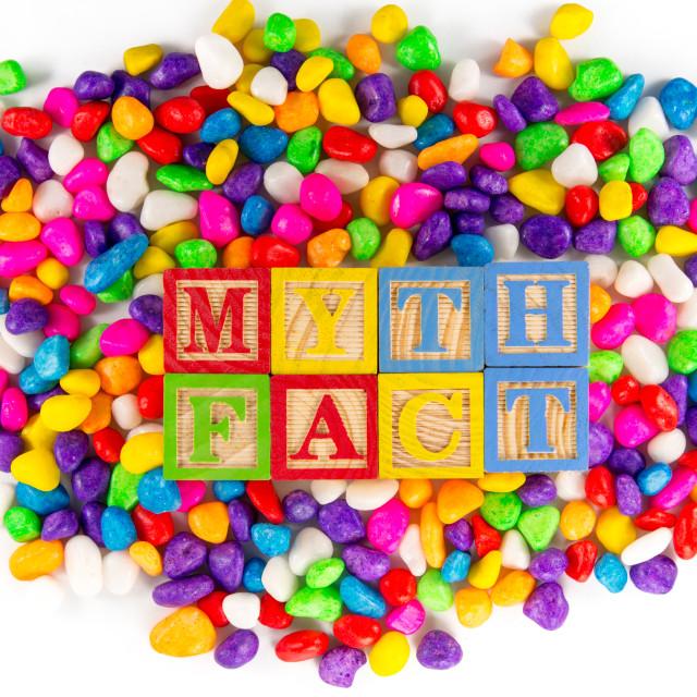"""Myth fact"" stock image"