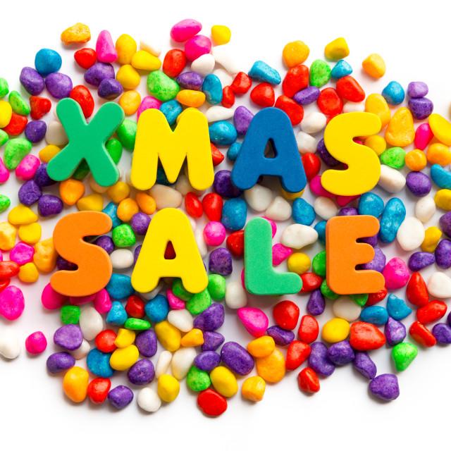 """""""xmas sale"""" stock image"""