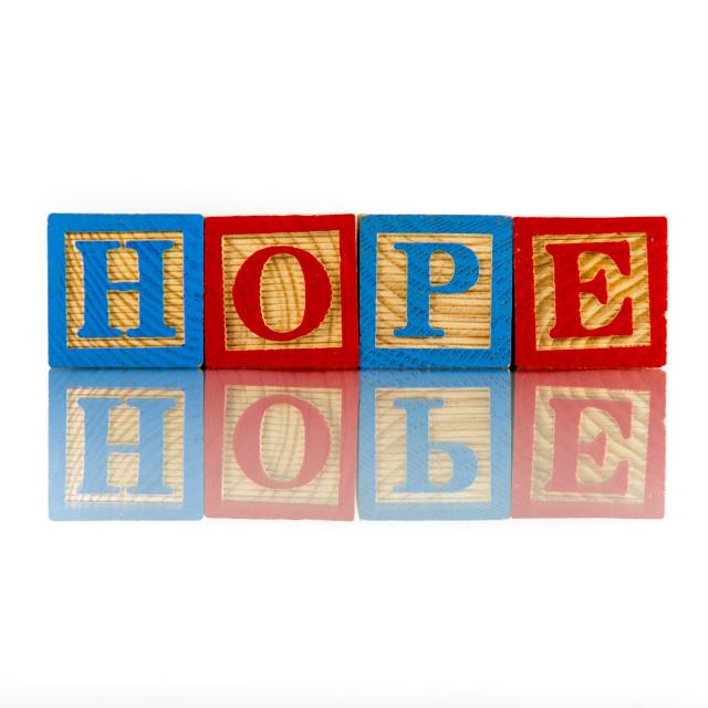 """hope"" stock image"