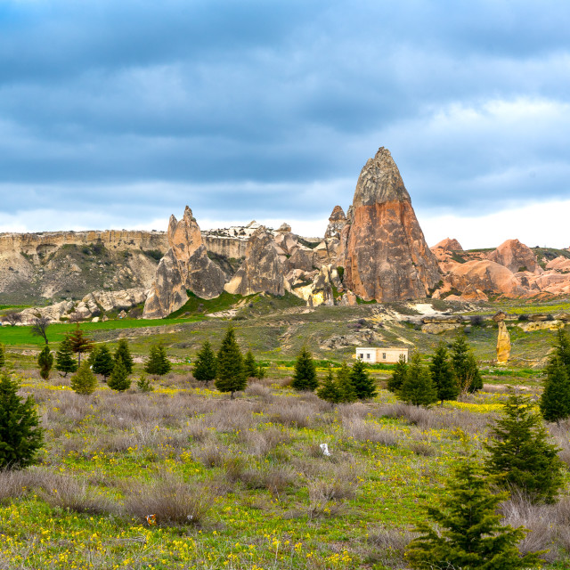 """Goreme National Park, Cappadocia, Turkey"" stock image"