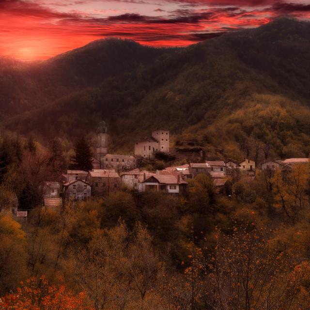 """Fairytale landscapes"" stock image"