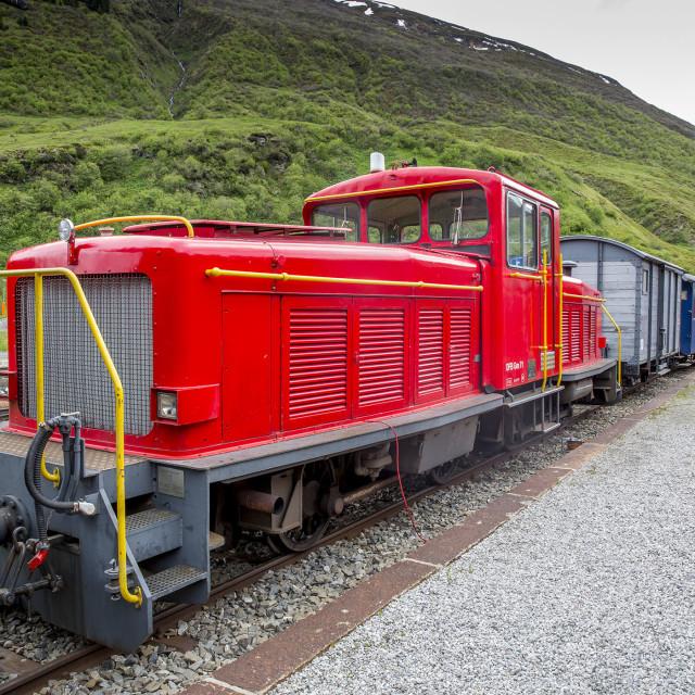 """DFB GM 71 Dieselloc"" stock image"