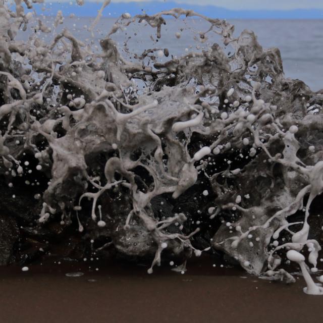 """""""Frozen water"""" stock image"""