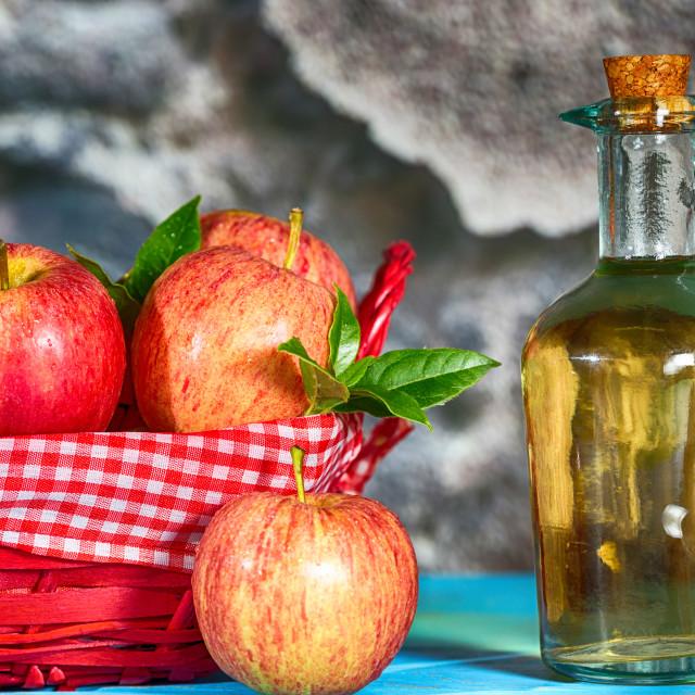 """Apple Cider Vinegar"" stock image"