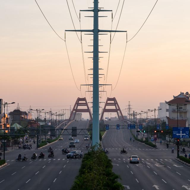 """HO CHI MINH city (Saigon), VIETNAM"" stock image"