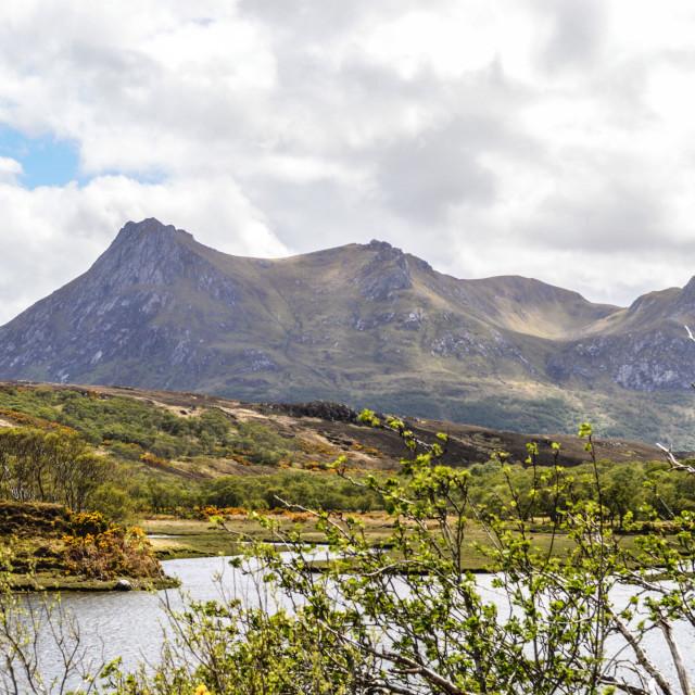 """""""NorthWest Highlands"""" stock image"""