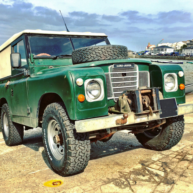 """Land Rover Series 3"" stock image"