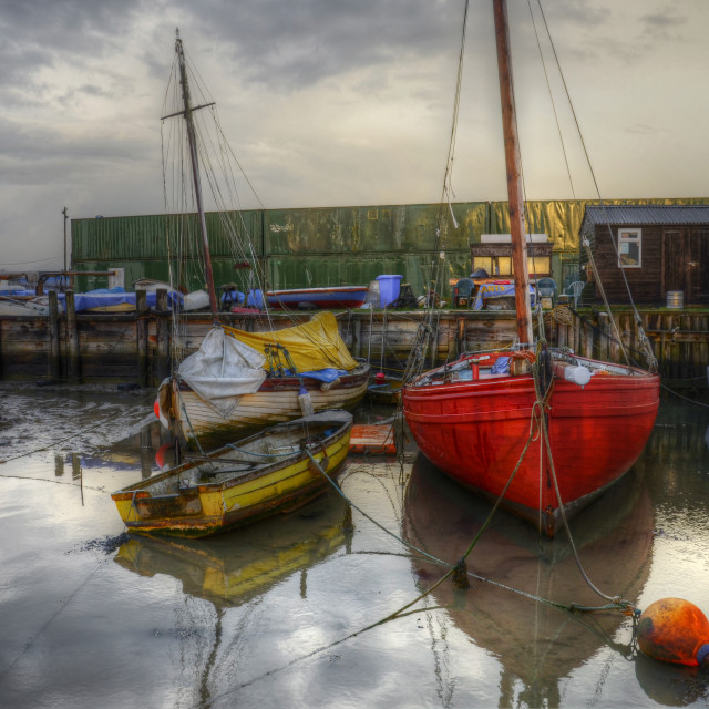 """""""The Smack Dock"""" stock image"""