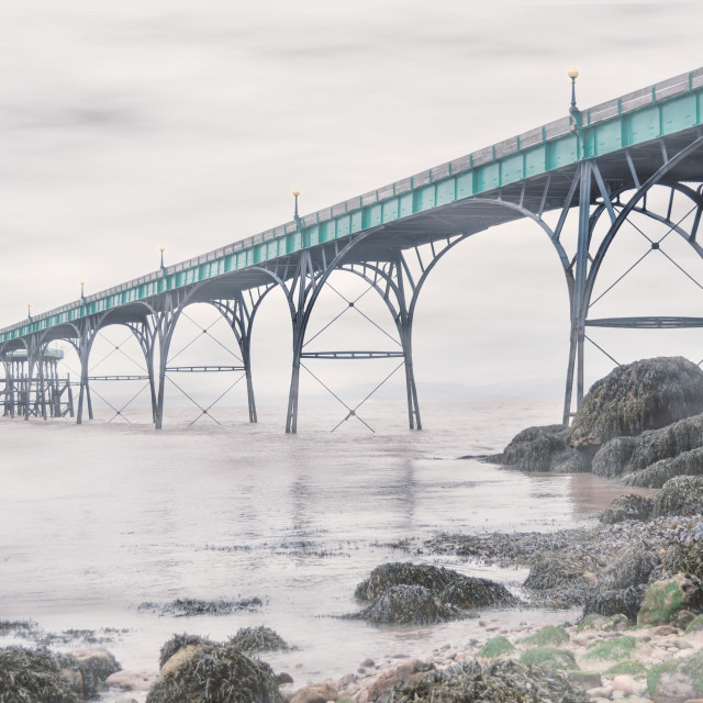 """Clevedon Pier"" stock image"