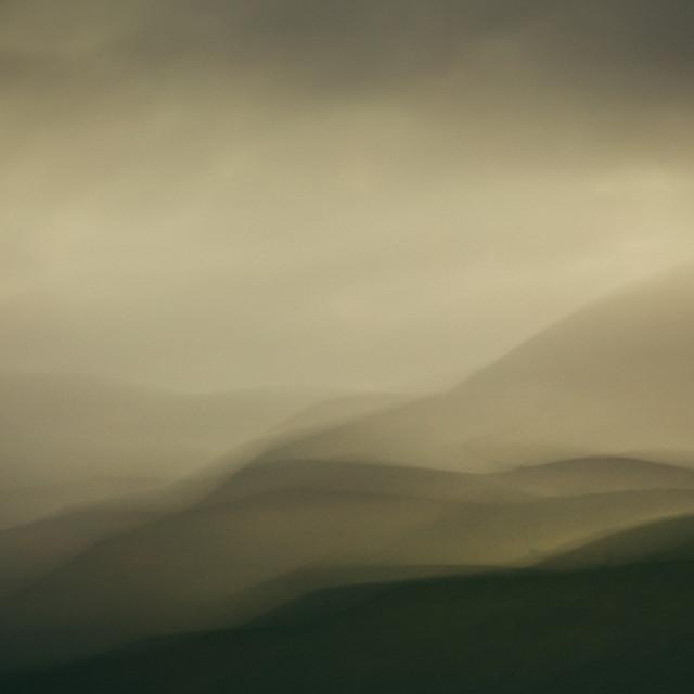 """Mountains from Molehills I"" stock image"