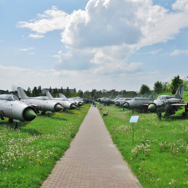 """Polish Aviation Museum, Kraków"" stock image"