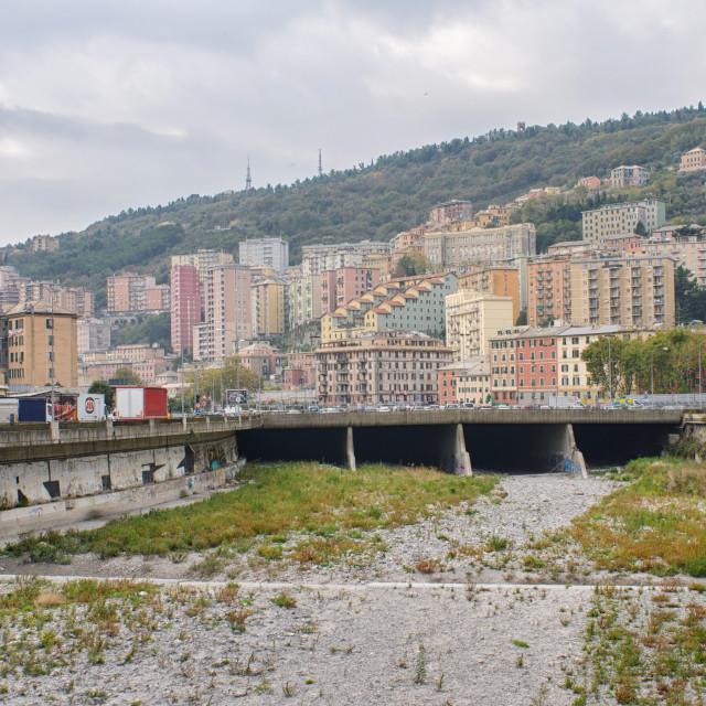 """""""Hillside District Of Staglieno in Genoa"""" stock image"""